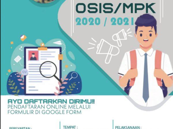 OPEN RECRUITMENT OSIS MPK SNESA 2020